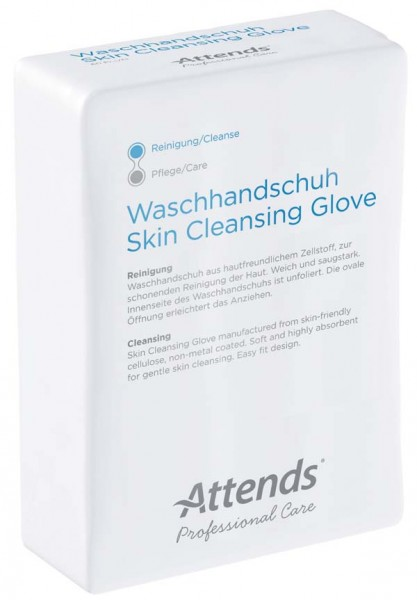 ATTENDS Professional Care Waschhandschuhe 50St