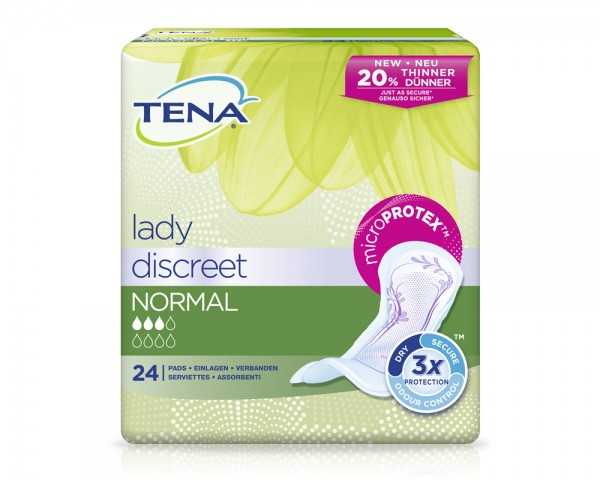 TENA LADY DISCREET NORMAL (12x24 St)