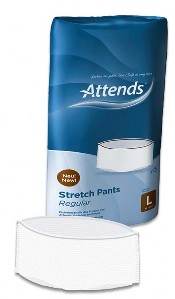 ATTENDS Stretch Pants Regular L 15St