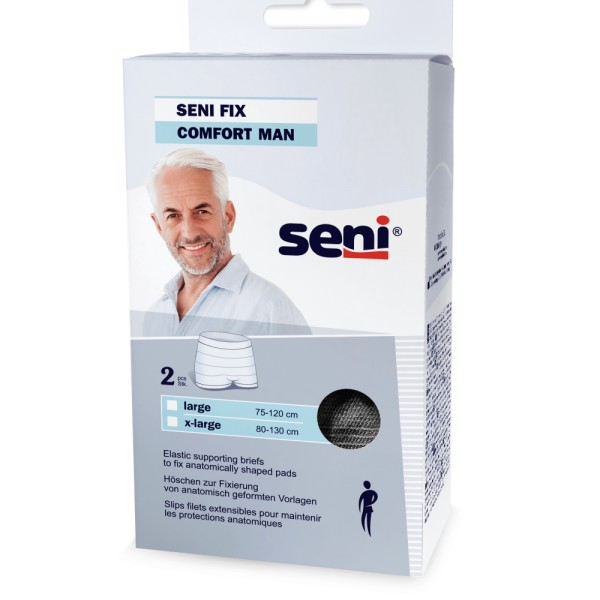 SENI FIX COMFORT MEN BLACK XL A2 (8x2 St)