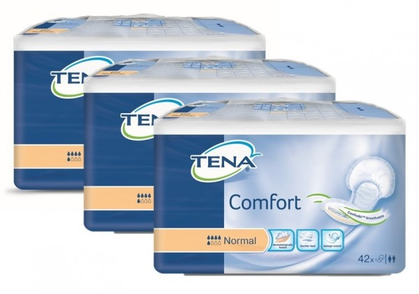 TENA COMFORT ORIGINAL NORMAL (3x42 St)