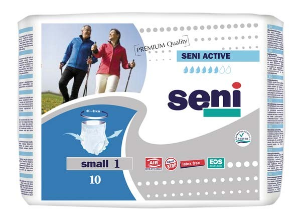 SENI Active Inkontinenzslip Einmal small 8X10St