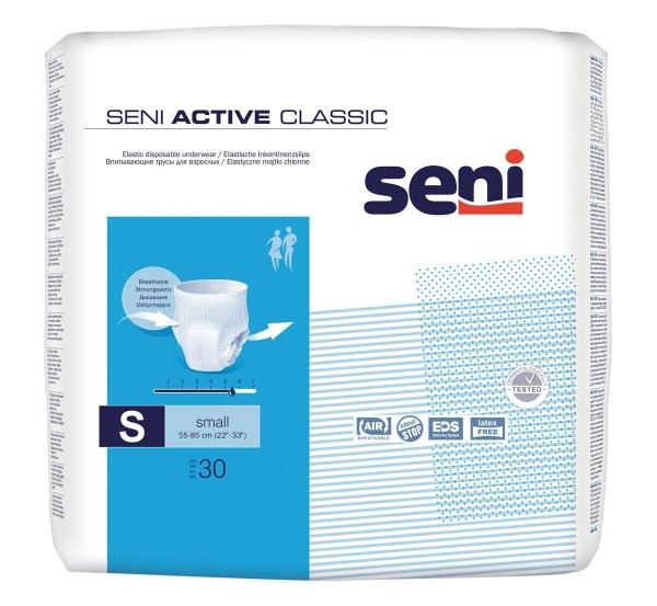SENI ACTIVE CLASSIC SMALL (2x30 St)